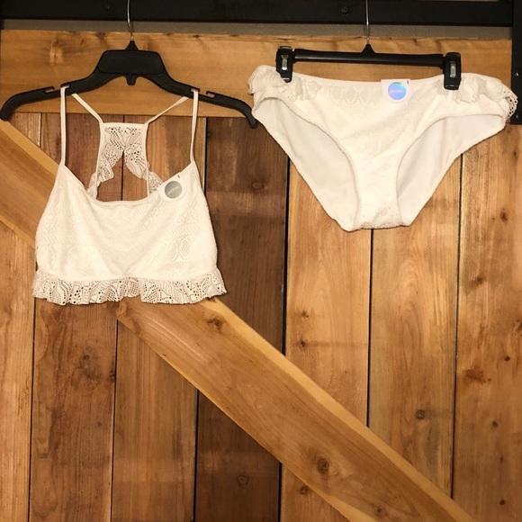 ASOS Other - ASOS Ruffle Lace Bikini Set NWT
